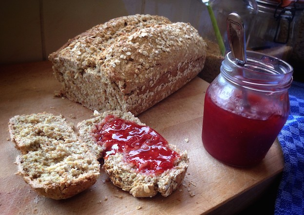Bake your own dairy free Irish Soda Bread